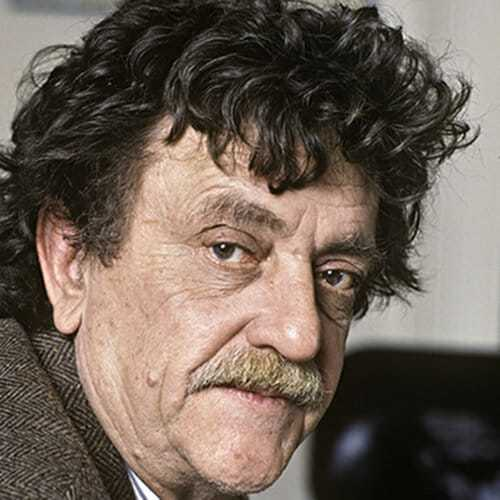 Image of Kurt Vonnegut, who insisted his work is not science fiction.