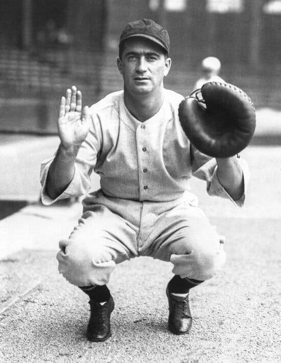 Image of Moe Berg, the subject of this biography.