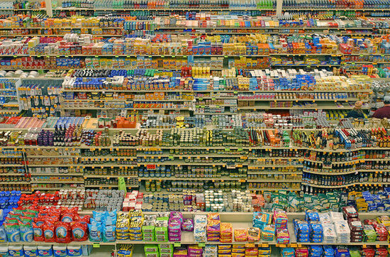 image of a typical American supermarket