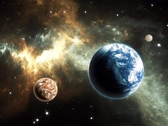 An image that might depict Tau Ceti g, where this tale of conflict between species takes place